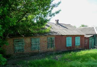 Дружковка. Район Яковлевка. Старая застройка