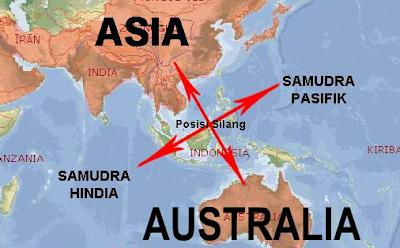 Pengaruh letak geografis dan letak astronomis bagi Indonesia