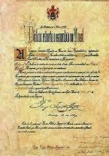 Lei-áurea-13 de maio-1888-fim da escravidão-Princesa isabel.