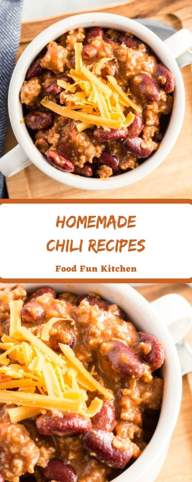 HOMEMADE CHILI RECIPES