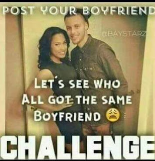 post your #boyfriend let's see who all got the same boyfriend CHALLENGE