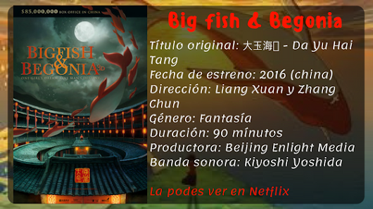 Pochocleando #9- Big Fish & Begonia