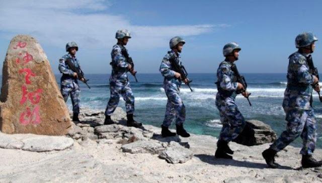 tentara china di perbatasan