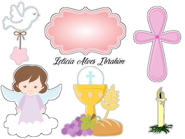 Angel in Lilac: Free Printable Toppers.