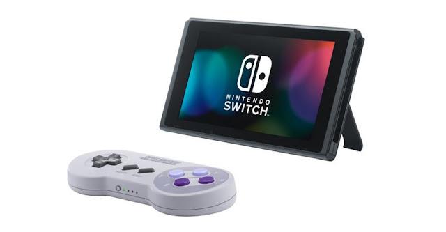 Controles de Super Nintendo para Switch esgotam em poucas horas na loja online da Big N