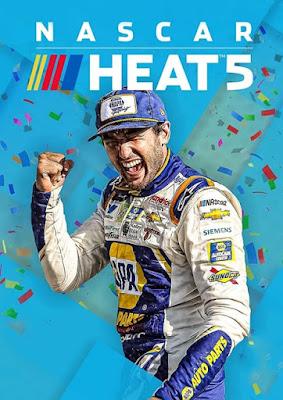 Capa do NASCAR Heat 5