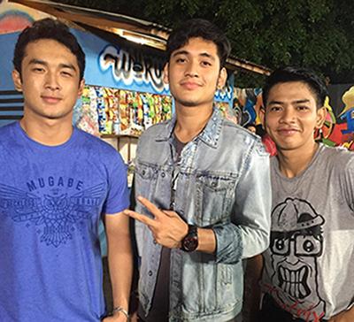 Haikal, Gino dan Iyan