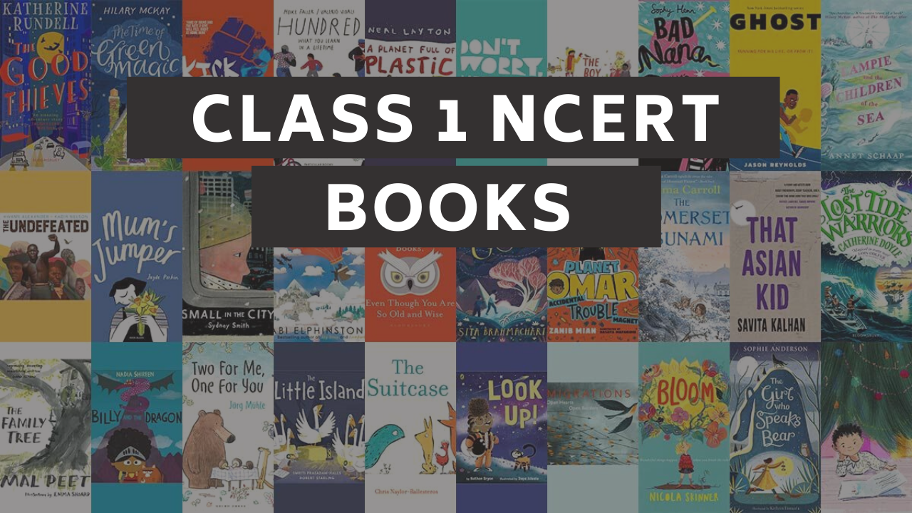 Class 1 NCERT Books For All Subjects