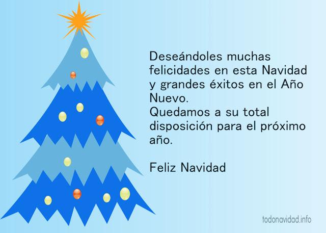 deseos de feliz navidad corporativos