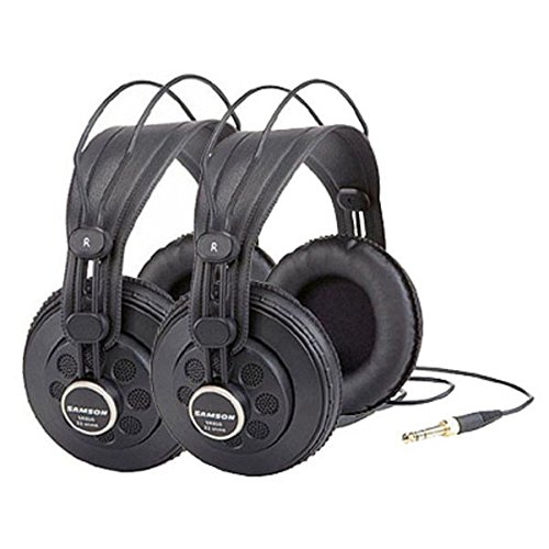 Samson SR850 Studio Headphones, 2-Pack