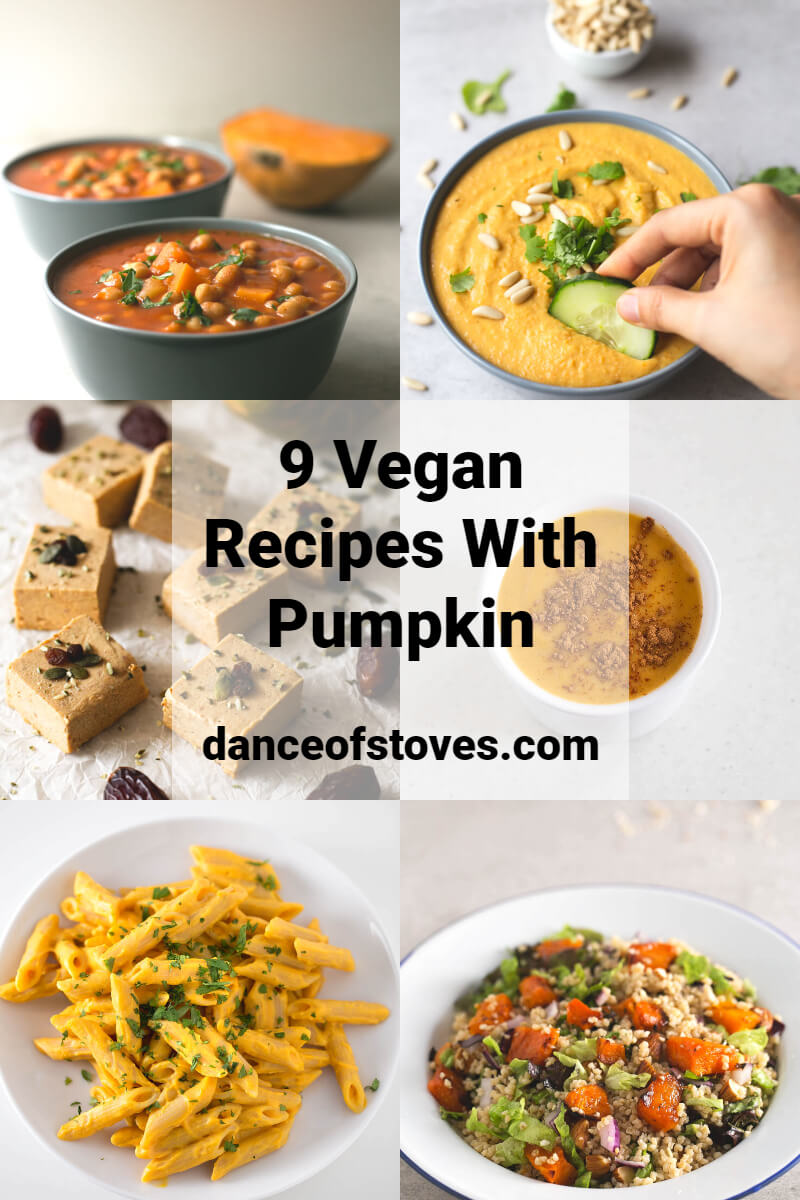 9 Vegan Recipes with Pumpkin. - Pumpkin is in season, and there are a thousand different recipes that we can prepare: salty, sweet or even drinks.