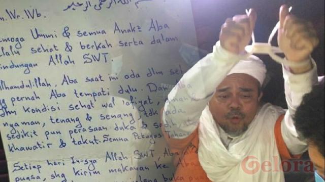 Habib Rizieq Sedang Uzlah, Umat Cukup Mendoakan