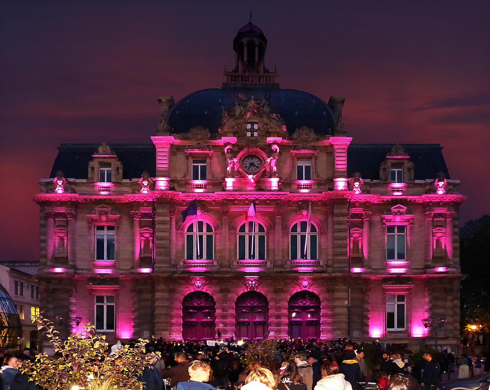 Hôtel de Ville, mairie de Tourcoing - Allumoirs 2019