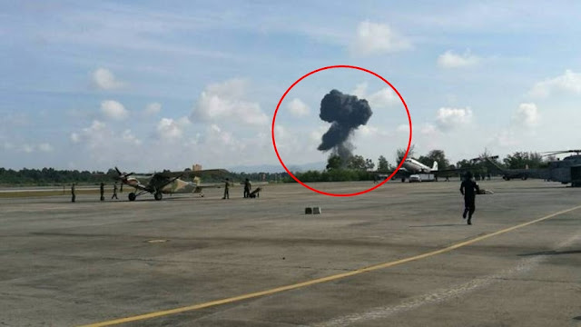 VIDEO - THAI GRIPEN CRASHES DURING AIR SHOW