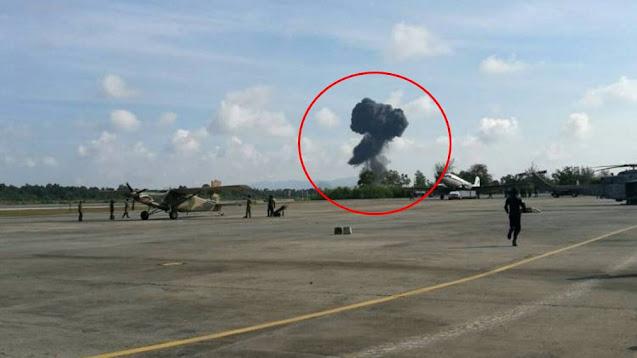 Thai Gripen crash accident
