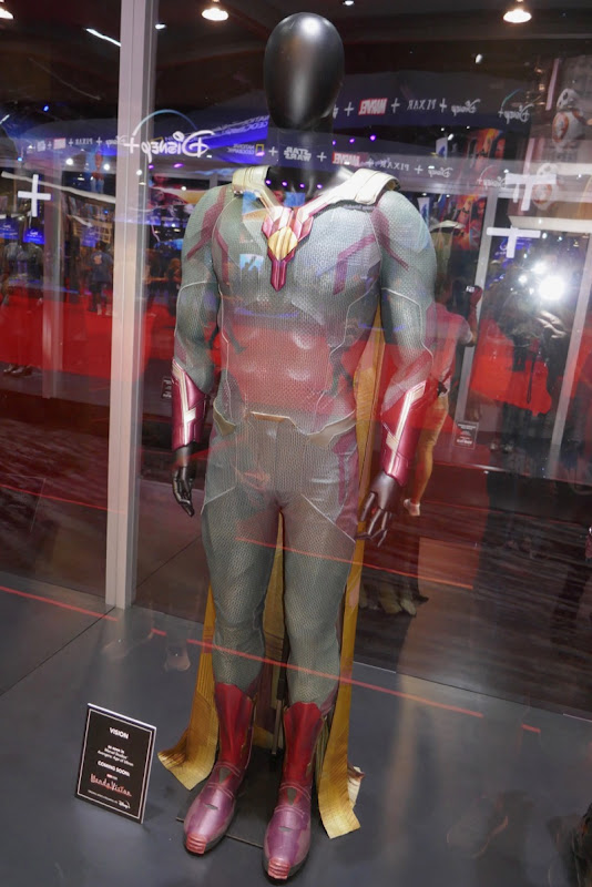 Paul Bettany Avengers Vision movie costume