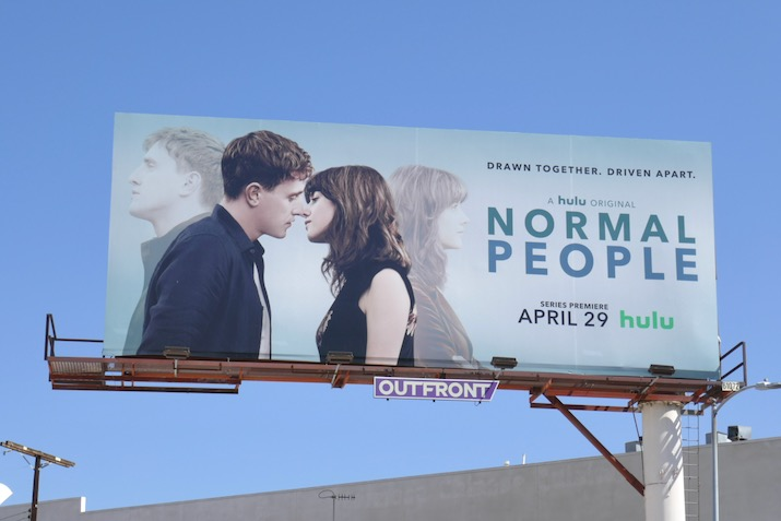Normal People series launch billboard