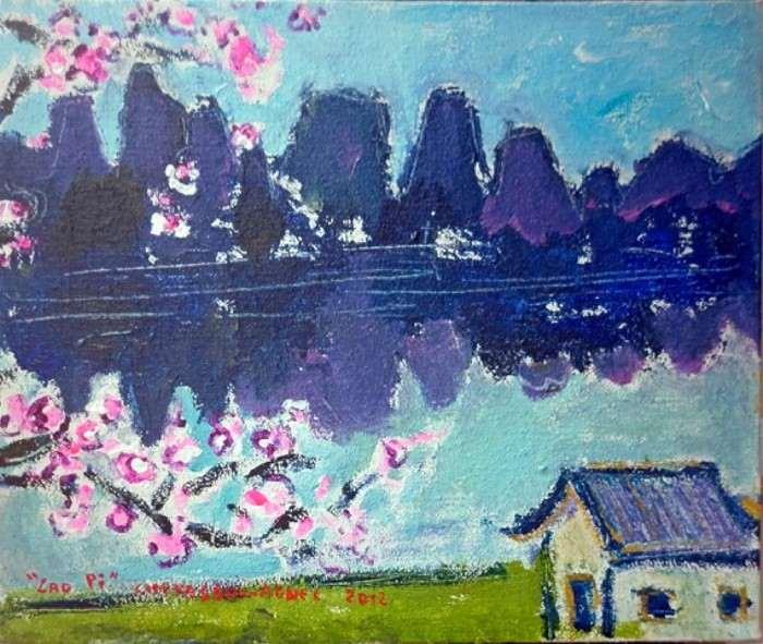 Французский художник. Chevassus-Agnes Jean-Pierre