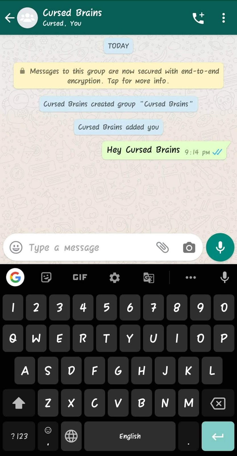How To Know WhatsApp Message Read - Message Sent In Same Group - Cursed Brains