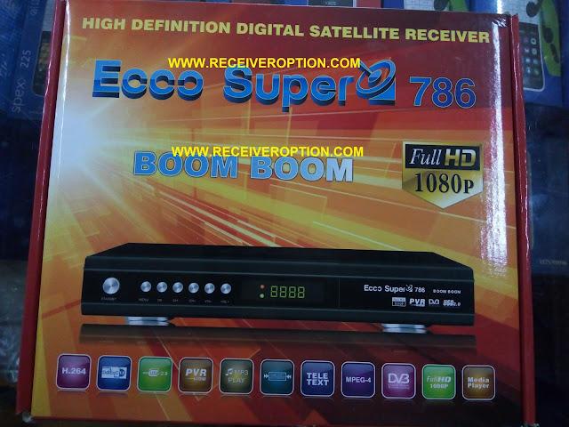 ECCO SUPER 786 BOOM BOOM HD RECEIVER DUMP FILE