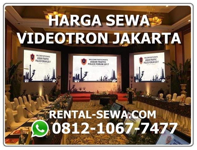 HARGA SEWA VIDEOTRON JAKARTA