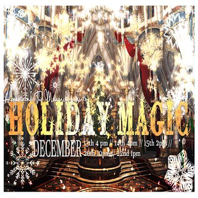 [The Monarchs] 新作公演 Holiday Magicのお知らせ