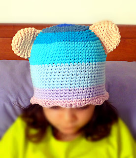 crochet beanie with ears