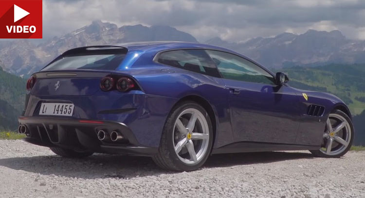 Ferrari GTC4Lusso Is Even More Of A Magnificent Oddity Than The FF