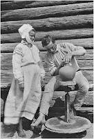 Horodno, miasteczko garncarzy, 1912 Fot. Izaak Sierbow/ Materiały prasowe wydawnictwa Znak