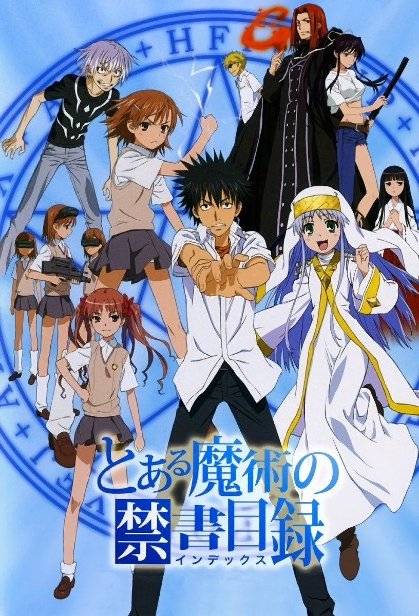 Toaru Majutsu no Index S1 BD Batch Subtitle Indonesia [x265]