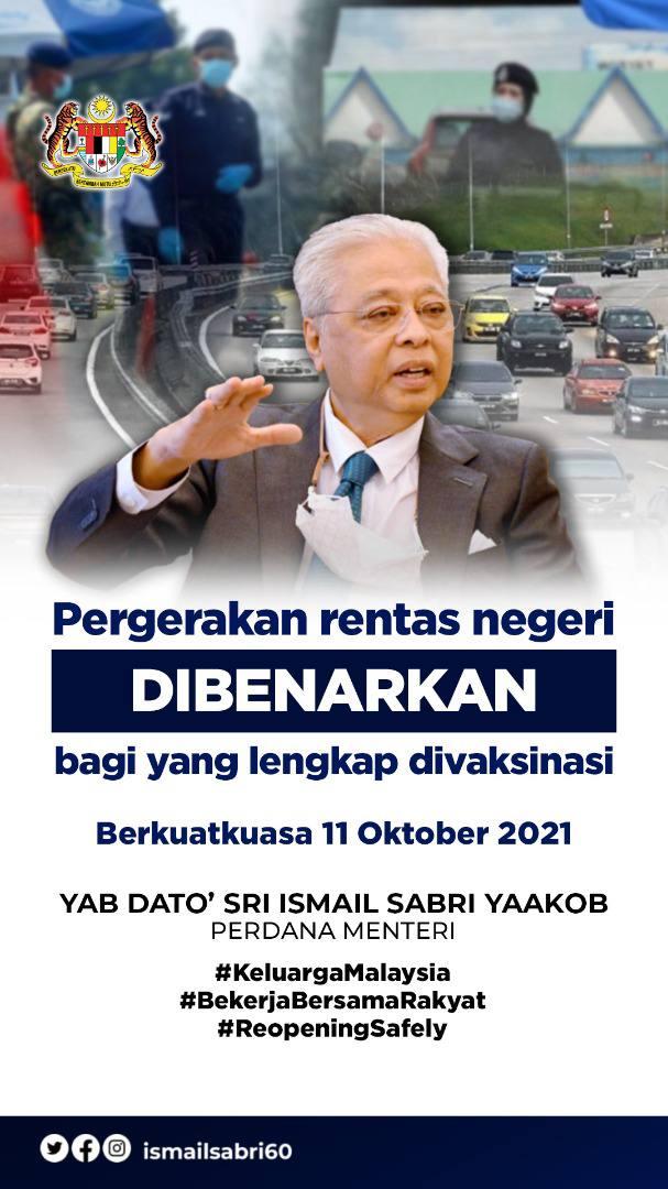 Malaysia cross state begin, malaysia cross state rules, antivaksin tak dibenarkan balik kampung, anti vaccine left behind in malaysia, balik kampung,