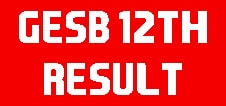 Gujarat Board 12th Result