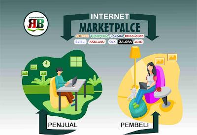 Marketpalce yang paling top di indonesia bhakan di Asia