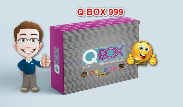 مواصفات رسيفر كيوبوكس Q BOX 999 HD الجديد