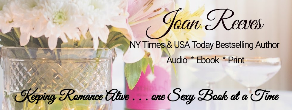 Joan Reeves, NY Times & USA Today Bestselling Author