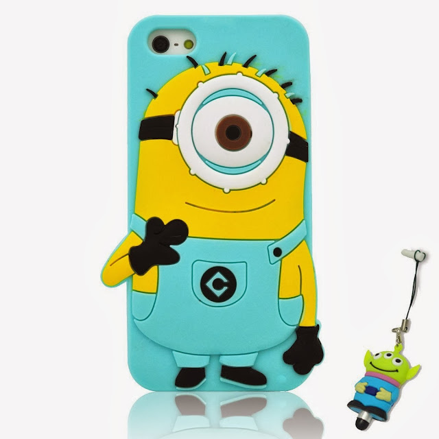 Minions silicon case for girls, teens, kids at heart