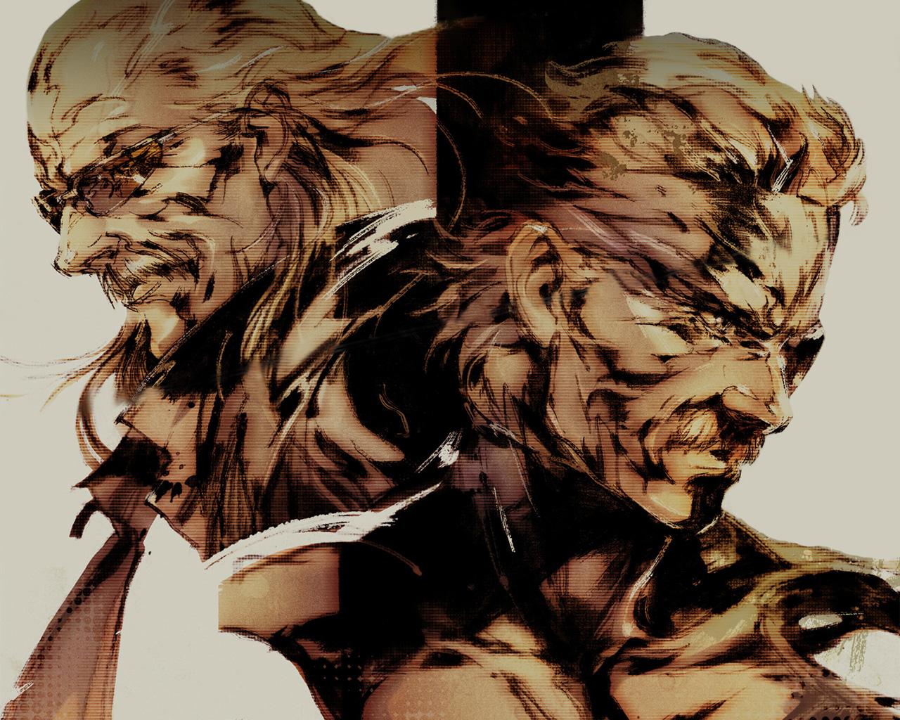 Metal Gear Solid Artwork: GAMING ROCKS ON: Game Art #45: Metal Gear Gallery