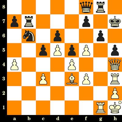 Les Blancs jouent et matent en 3 coups - Svetozar Gligoric vs Miroslav Radojcic, Ljubljana, 1947