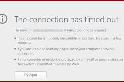 Cara mengatasi Connection Timed Out pada PHP tanpa harus melakukan konfigurasi pada file PHP.ini