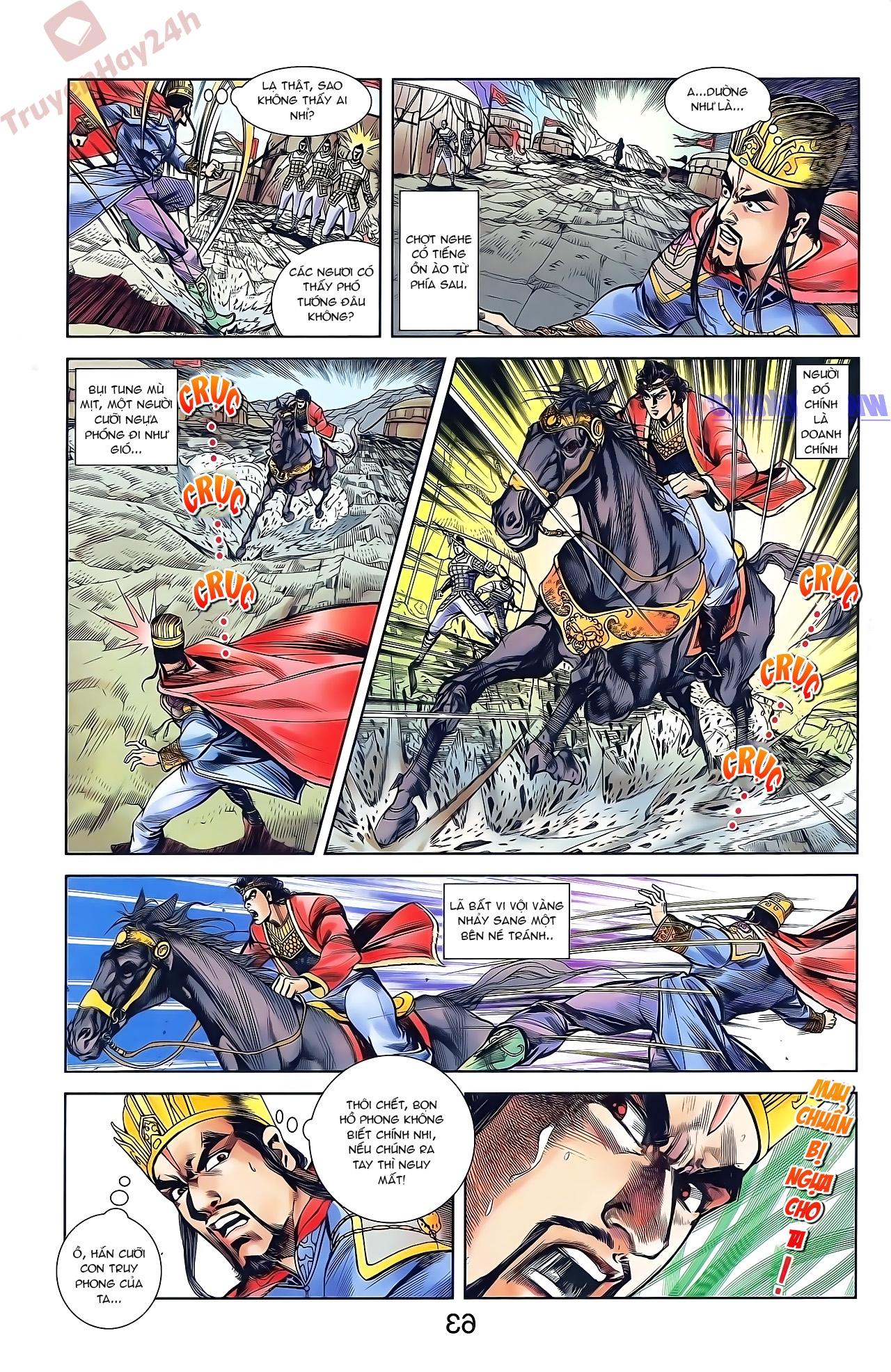 Tần Vương Doanh Chính chapter 44 trang 15