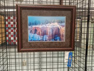Photo of a Cramer Imaging landscape photograph receiving a blue ribbon award at Garfield Utah County Fair 2020