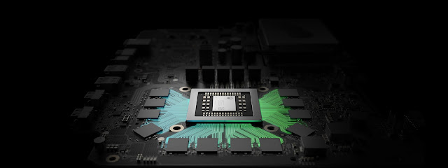 Placa mãe do Project Scorpio