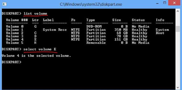 Hide Locat Disk Drives With CMD