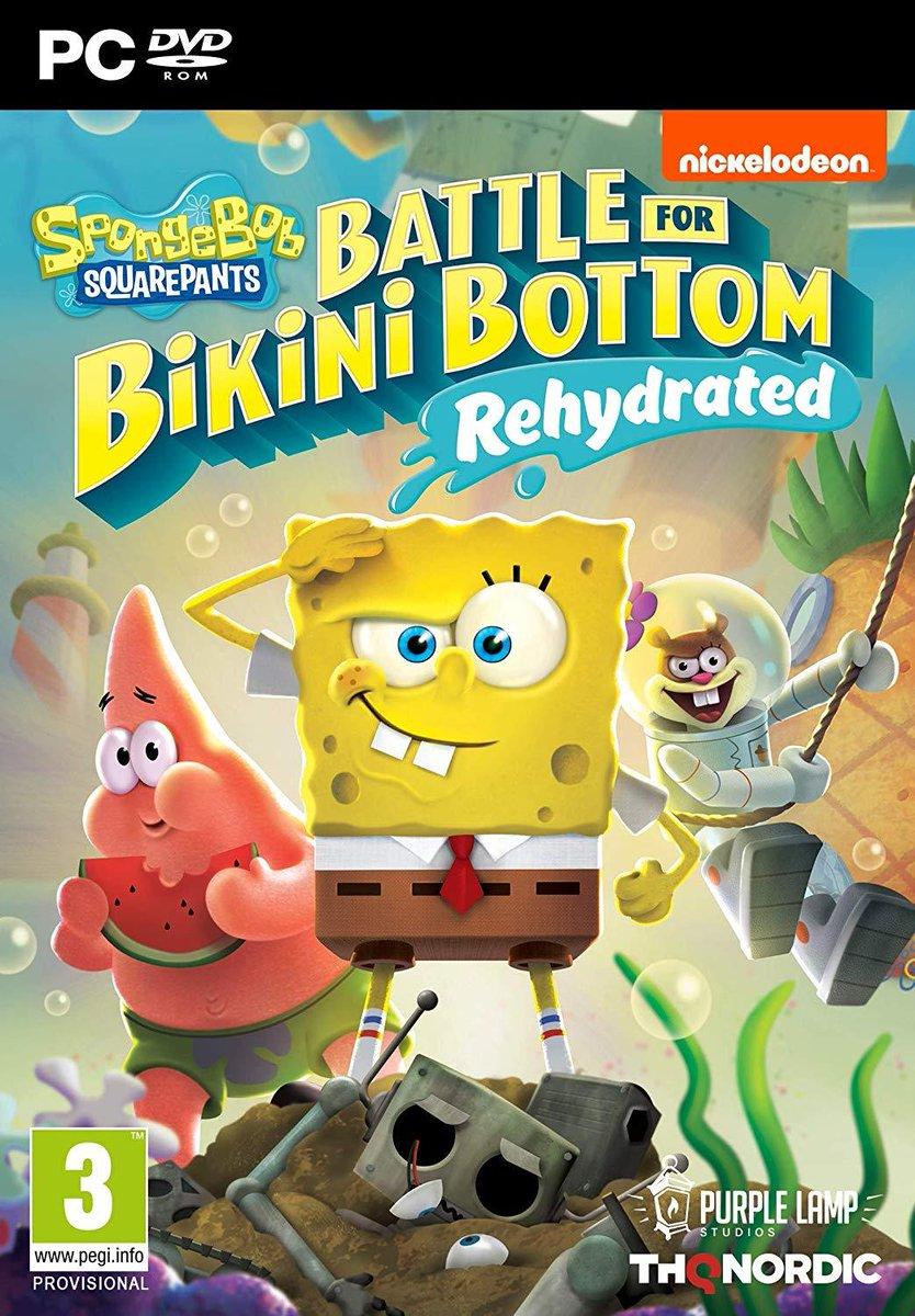 Descargar SpongeBob Battle For Bikini PC Cover Caratula