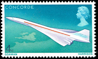Great Britain Concorde in Flight