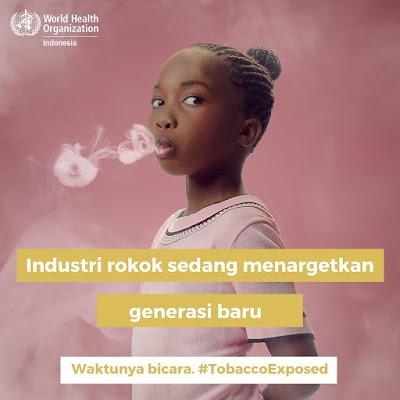 industri rokok sedang menargetkan generasi baru perokok