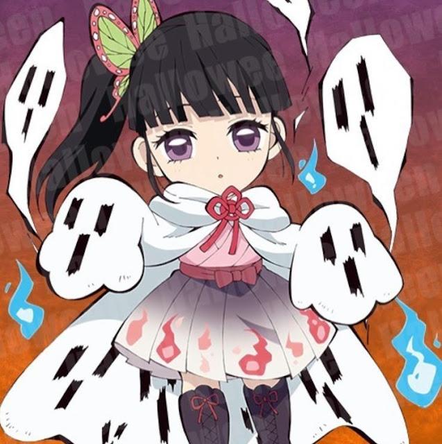 Hình ảnh Kimetsu no yaiba halloween 2020 -Tsuyuri Kanao 1