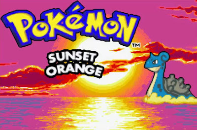 Pokemon Sunset Orange GBA Imagen Portada