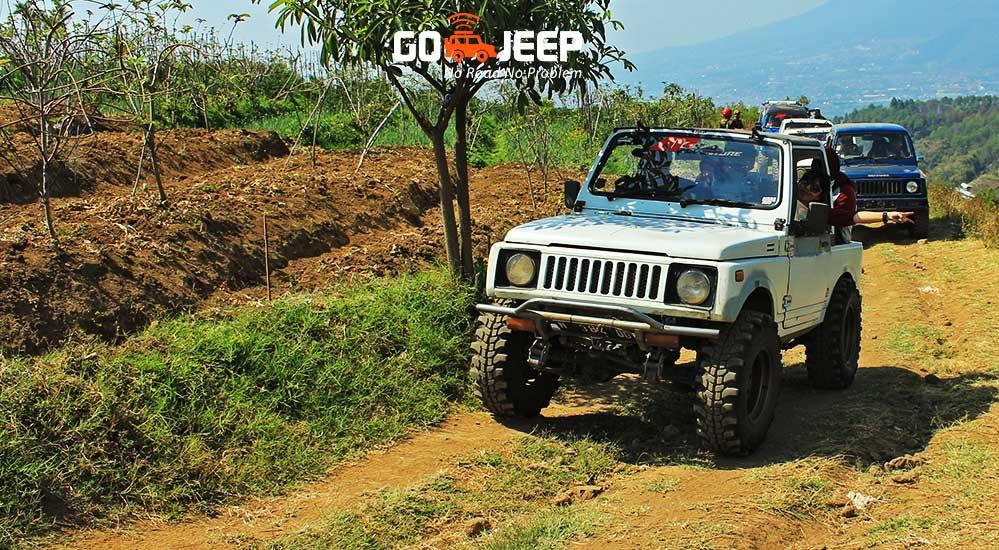 rute jeep offroad coban talun yang cantik