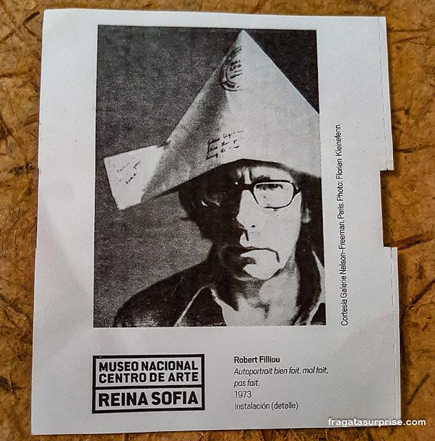 Ingresso para o Centro de Artes Reina Sofia, Madri